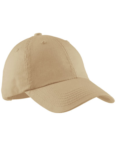 Port Authority LPWU Women Garment Washed Cap Stone at GotApparel