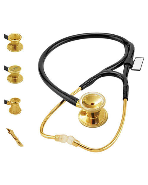 MDF MDF797DD MDF ER Premier Stethoscope Gold Edition at GotApparel