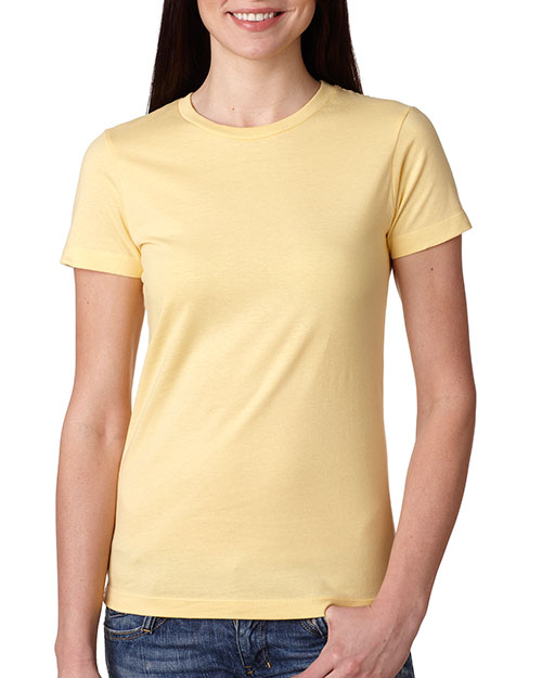 Next Level 3900 Women The Boyfriend Tee Banana Cream at GotApparel