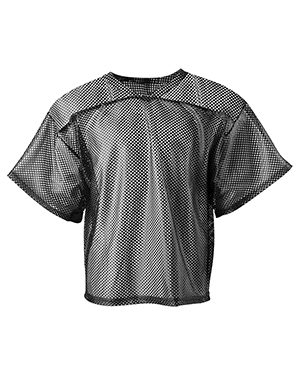 A4 N4190 Men All Porthole Practice Jersey Black at GotApparel