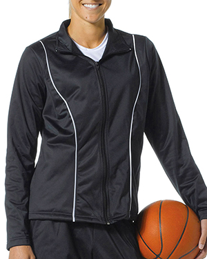 A4 Drop Ship NW4201 Women's Full-Zip Jacket Black at GotApparel