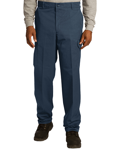 Red Kap PT88 Adult Industrial Cargo Pant Navy at GotApparel