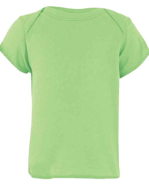Rabbit Skins R3400 infants 5.3 Oz. Lap Shoulder T-Shirt Key Lime at GotApparel