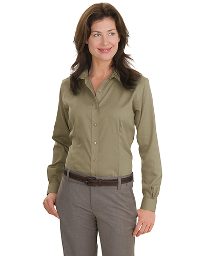 Red House RH47 Women Nailhead NonIron ButtonDown Shirt Tan at GotApparel