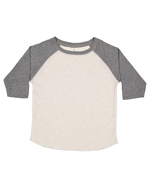 Rabbit Skins RS3330 Toddler 4.5 oz Baseball T-Shirt at GotApparel