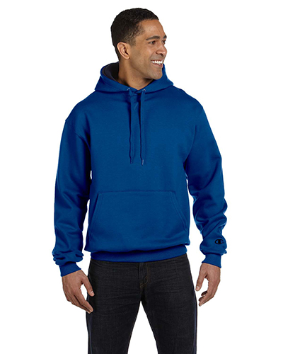 Champion S1781 Men for Team 365 Cotton Max 9.7 oz. Pullover Hood Team Blue/Navy at GotApparel