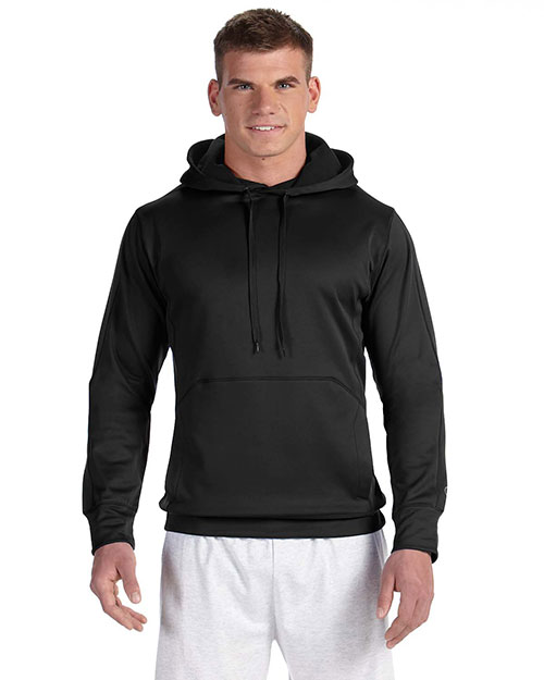 Custom Embroidered Champion S220 Adult Performance 5.4 Oz. Colorblock Pullover Hood at GotApparel