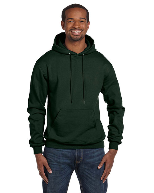 Champion S700 Men Eco 9 oz. Pullover Hood Dark Ggeen at GotApparel