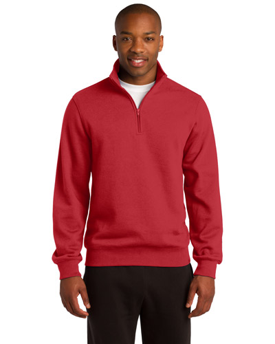 Sport-Tek® TST253 Men Tall 1/4-Zip Sweatshirt at GotApparel