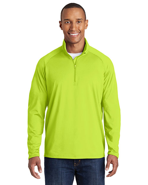 Sport-Tek® ST850 Men Sportwick Stretch 1/4-Zip Pullover at GotApparel
