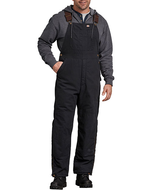 Dickies TB244 Unisex Sanded Duck Insulated Bib Overall at GotApparel