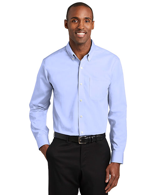 Red House TLRH240 Men ®  Tall Pinpoint Oxford Non-Iron Shirt. at GotApparel