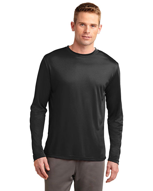 Sport-Tek® TST350LS Men Tall Long-Sleeve PosiCharge®  Competitor  Tee at GotApparel