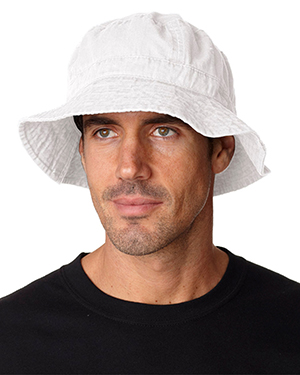 Adams VA101   Adult Bucket Hat White at GotApparel