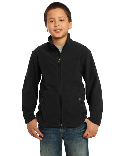 Port Authority Y217 Boys Value Fleece Jacket Black at GotApparel