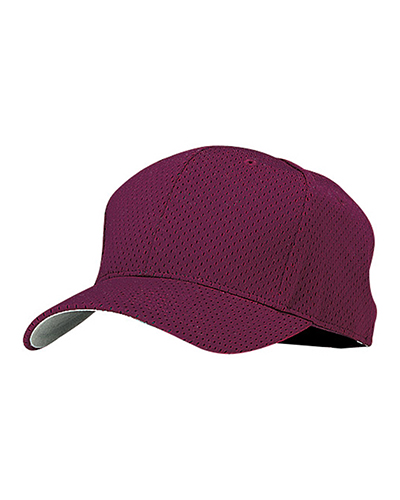 Port Authority YC833  Youth Pro Mesh Cap Maroon at GotApparel