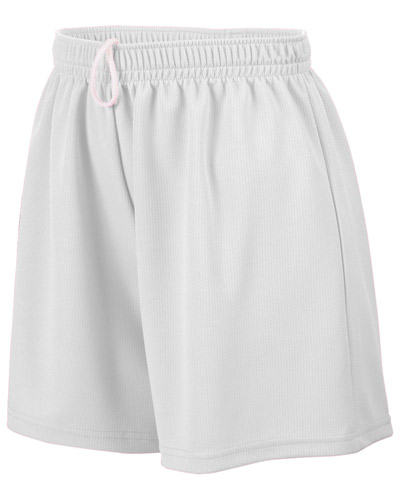 Augusta AG960 Women Wicking Mesh Short at GotApparel