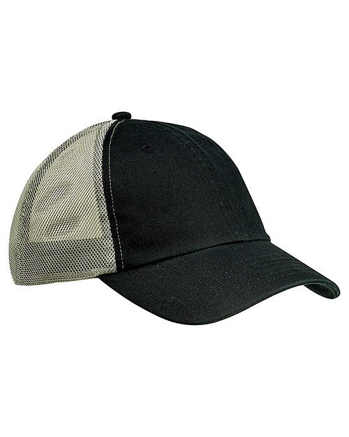 Big Accessories Ba601  Washed Trucker Cap at GotApparel