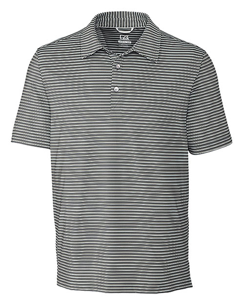 Cutter & Buck BCK09372 Men Division Stripe Polo at GotApparel