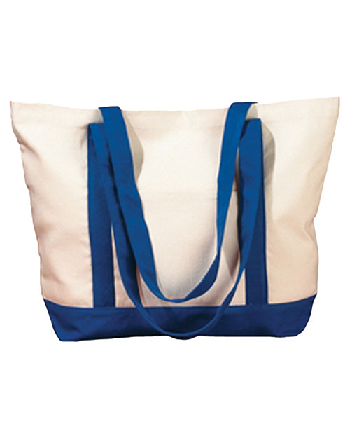 Big Accessories / BAGedge BE004 Unisex 12 oz. Canvas Boat Tote at GotApparel