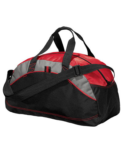 Port Authority BG1060 Unisex - Improved Small Contrast Duffel at GotApparel