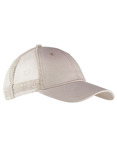 Big Accessories / BAGedge BX019 Unisex 6-Panel Structured Trucker Cap at GotApparel