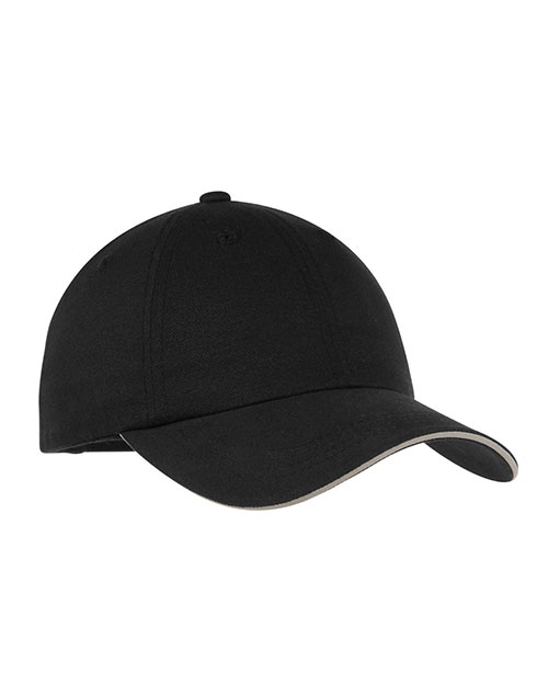 Port Authority® C832 Men's Reflective Sandwich Bill Cap at GotApparel