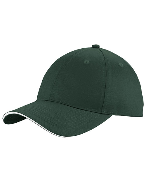 Port Authority C919 Unisex Unstructured Sandwich Bill Cap at GotApparel