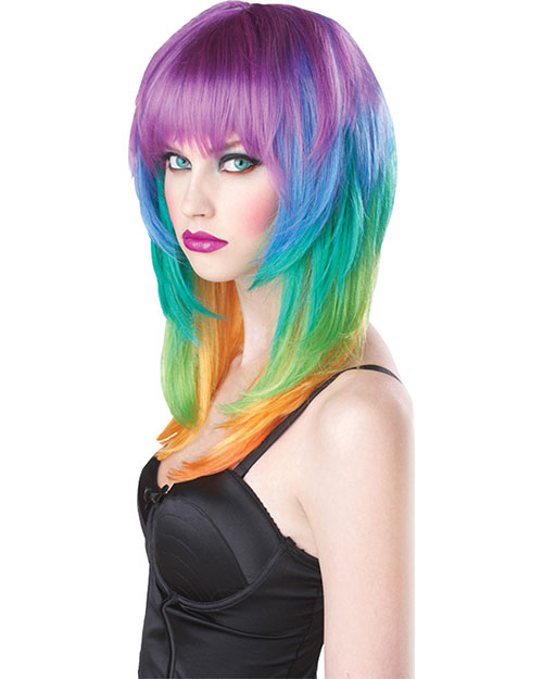 Halloween Costumes CC70017 Unisex Wig Kaleidoscope at GotApparel