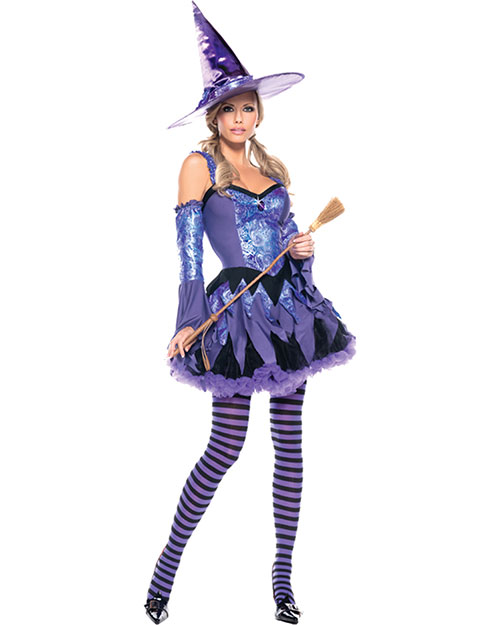 Halloween Costumes CK993SD Women Gypsy Witch Small Medium at GotApparel