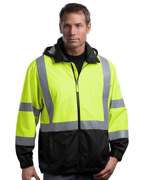 Cornerstone CSJ25 Men Ansi 107 Class 3 Safety Windbreaker at GotApparel