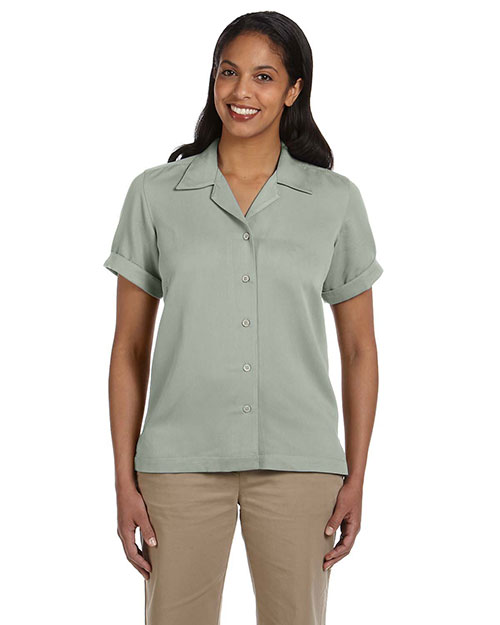 Devon & Jones Classic D670W Women Isla Camp Shirt at GotApparel
