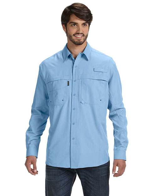 Dri Duck DD4405 Men Long-Sleeve Catch Fishing Shirt at GotApparel
