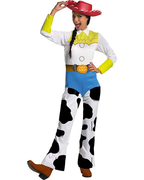 Halloween Costumes DG11374E Women Toy Story Jessie Lg Clsc at GotApparel