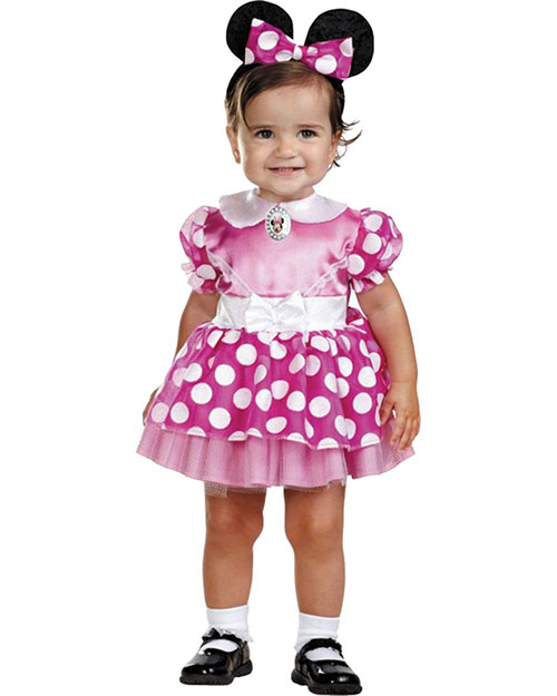 Halloween Costumes DG11398W Infants Minnie Mouse Pink 12-18 Mths at GotApparel