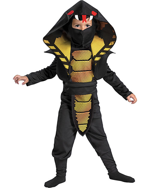 Halloween Costumes DG25975L Boys Cobra Ninja 4-6 at GotApparel