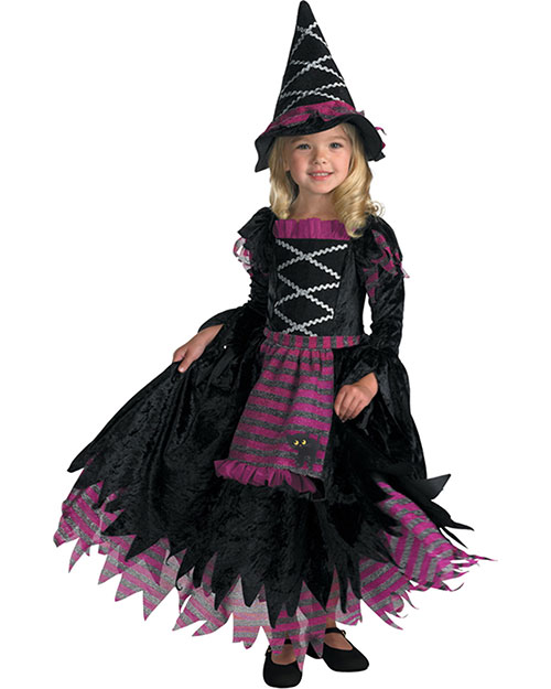 Halloween Costumes DG3216M Girls Morris  Fairy Tale Witch 3t 4t Child at GotApparel