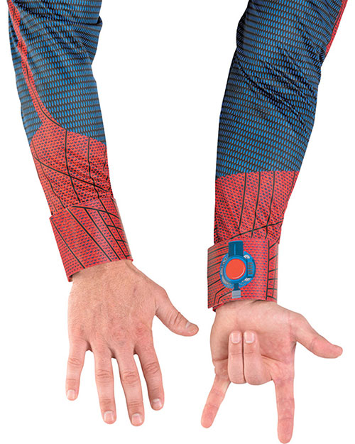 Halloween Costumes DG42525 Men Spiderman Movie Webshooter Adt at GotApparel