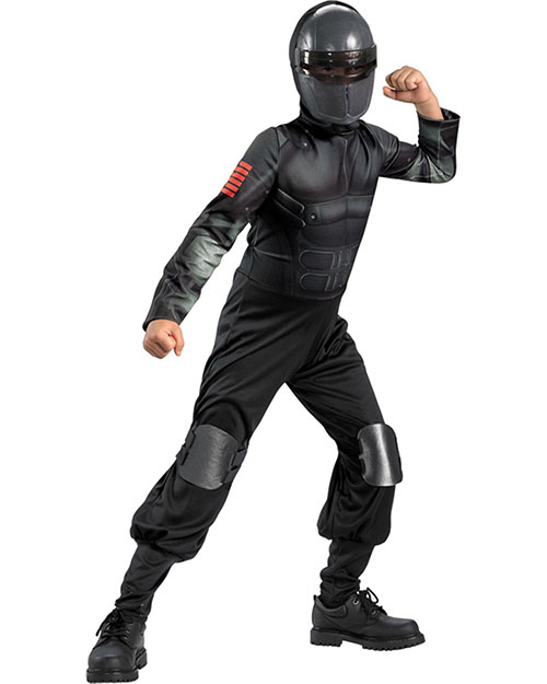 Halloween Costumes DG42563K Boys Snake Eyes Classic 7-8 Child at GotApparel