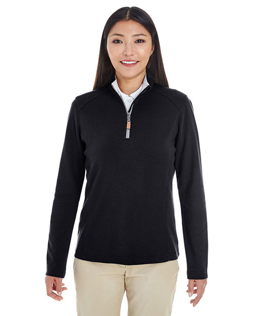 Devon & Jones Classic DG479W Women Drytec20  Performance Quarter-Zip at GotApparel