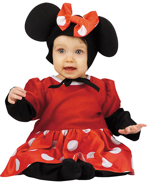 Halloween Costumes DG5390W Infants Baby Minnie 12 18 Months at GotApparel