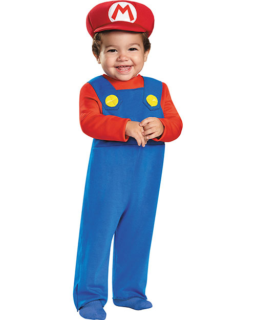 Halloween Costumes DG85135W Toddler Mario 12-18 at GotApparel