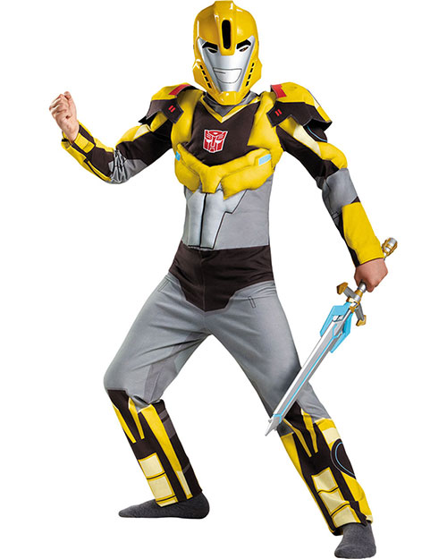 Halloween Costumes DG85563K Boys Bumblebee Classc Muscle 7-8 at GotApparel