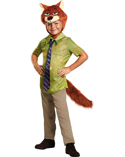 Halloween Costumes DG99838K Boys Zootopia Nick Wilde Ch 7-8 at GotApparel