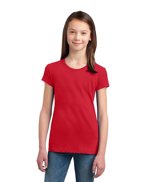 District DT5001YG Girls The Concert Tee at GotApparel