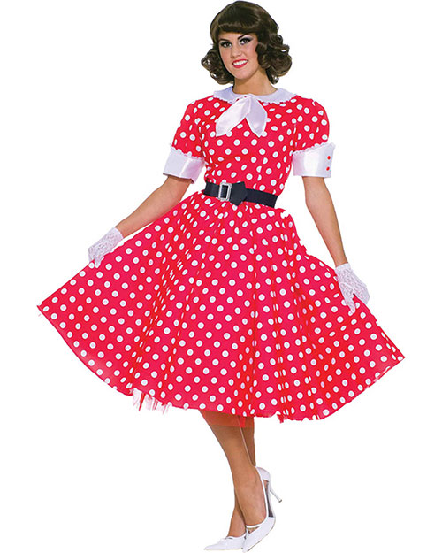 Halloween Costumes FM61699 Women 50s Housewife at GotApparel