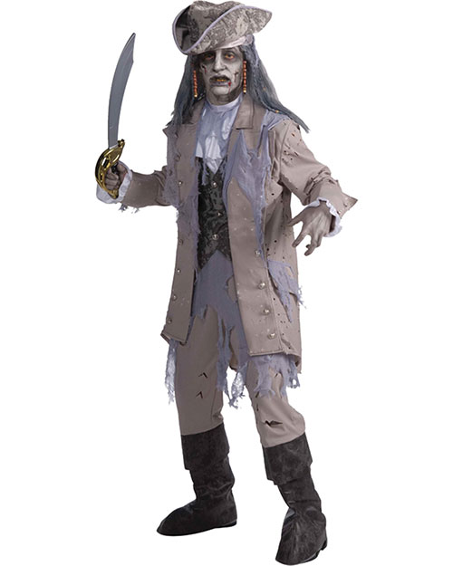 Halloween Costumes FM66340 Men Zombie Pirate at GotApparel