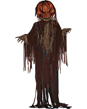 Morris Costumes FM68688 Scary Pumpkin Prop 12 Ft at GotApparel