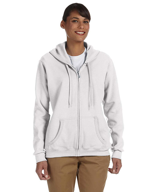Gildan G186FL Women Heavy Blend 8 oz., 50/50 Full Zip Hood at GotApparel
