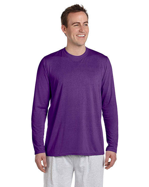 Gildan G424 Men Performance 4.5 oz. LongSleeve T-Shirt at GotApparel